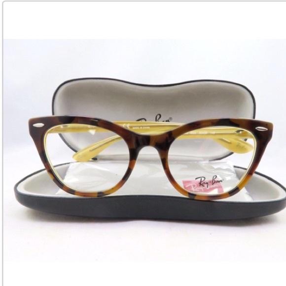 c1bfcf5c59b Authentic Ray Ban Rx 5226 Cat-Eye Glasses. M 5a88c5c48290af2b1d7c7fcd